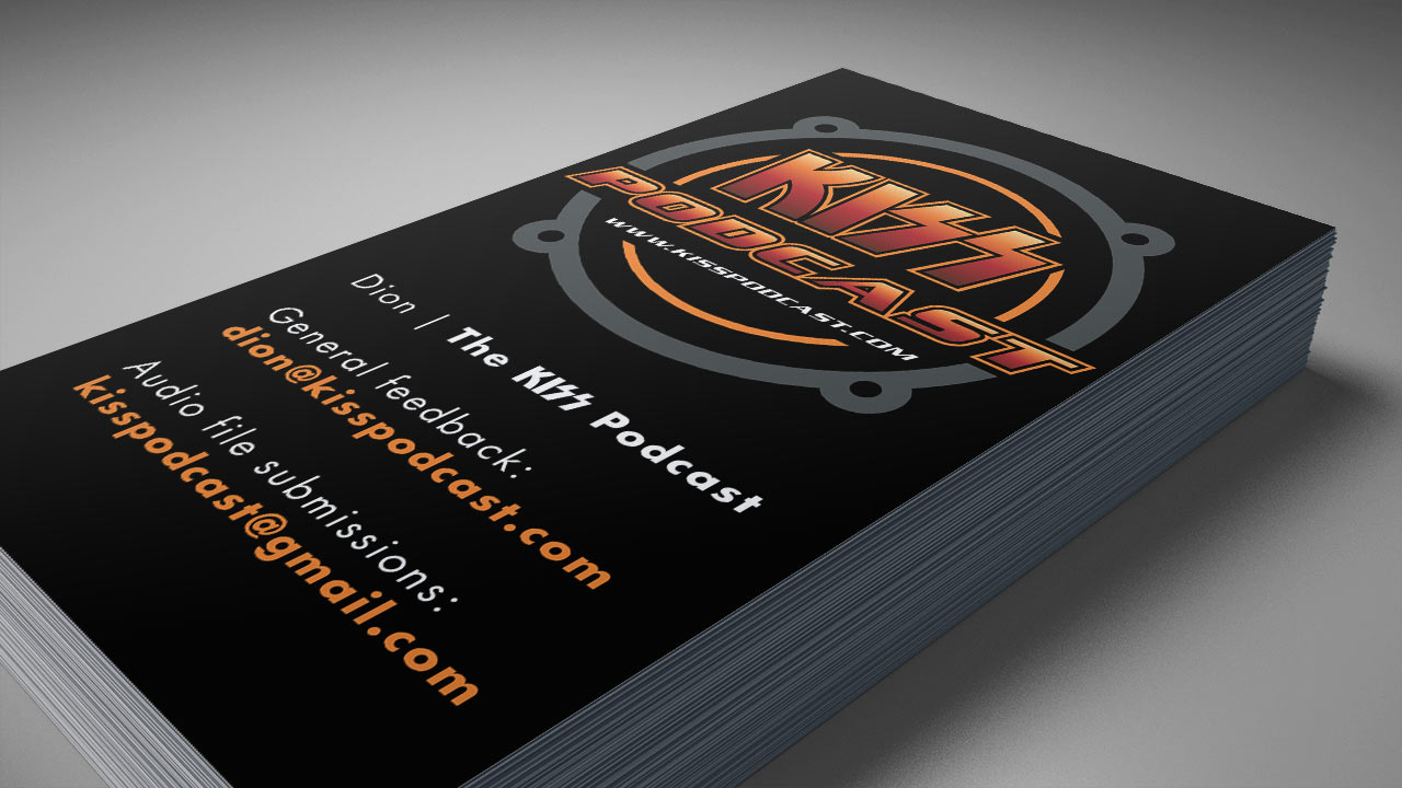 KISS Podcast Businesscard