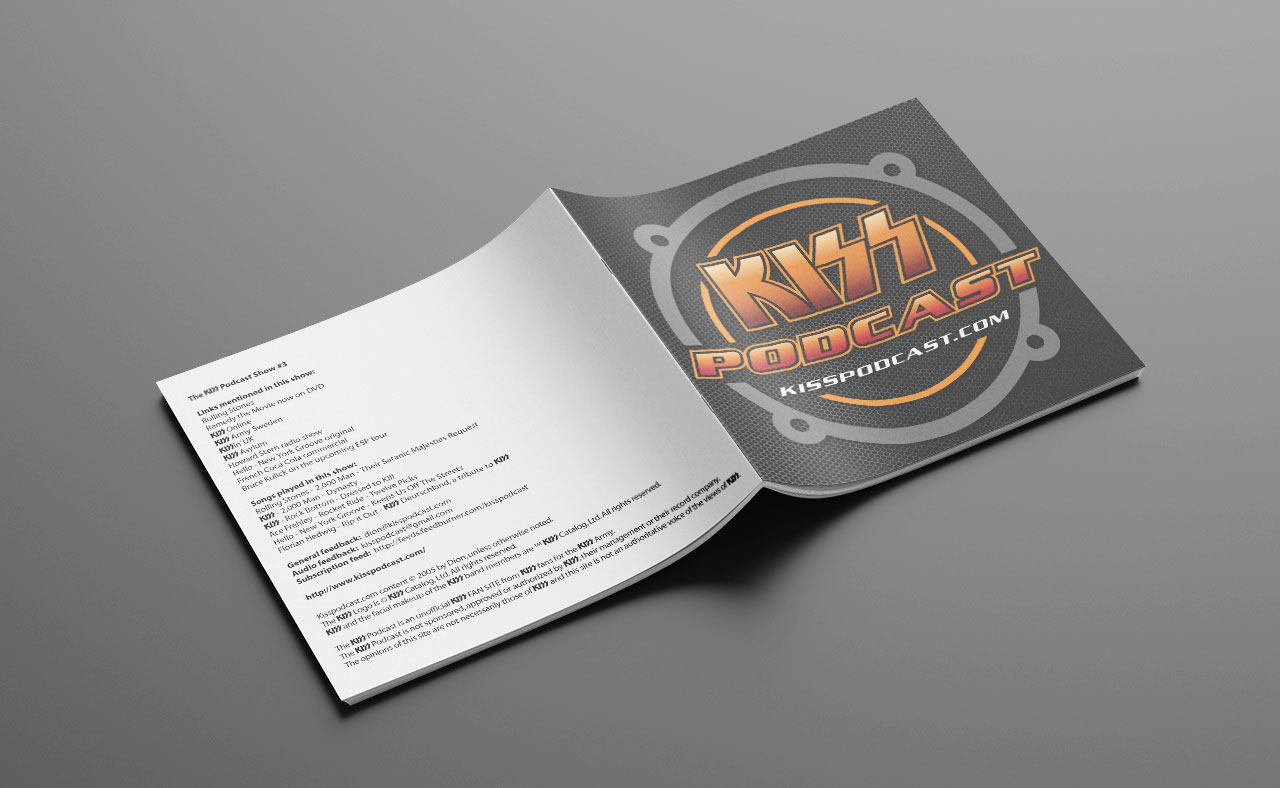 KISS Podcast CD Booklet